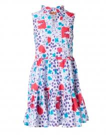 Violet Fleur Print Cotton Poplin Dress