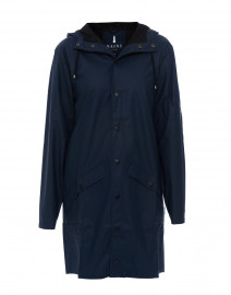Navy Waterproof Raincoat