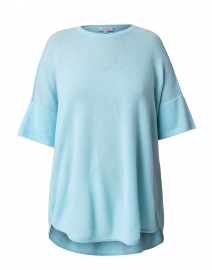 Pale Blue Cashmere Sweater