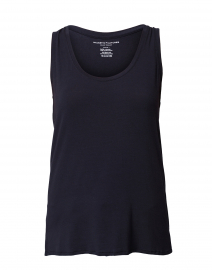 Navy Stretch Viscose Tank