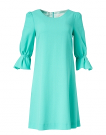 Gem Mint Green Wool Crepe Dress