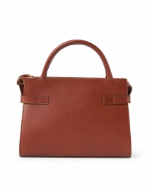A.P.C. - Charlotte Cognac Leather Top Handle Bag
