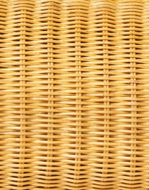 SERPUI - Farah Light Honey Wicker Clutch
