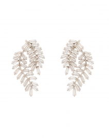 Deco Fern Stud Earrings