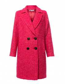 Joselyn Pink Double Breasted Coat