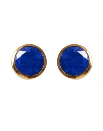 Lapis Blue Signature Knockout Studs