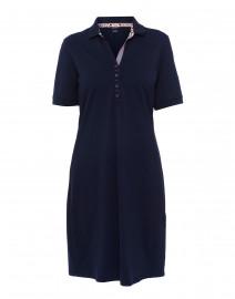 Dora Navy Polo Dress