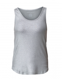 Gunmetal Metallic Tank Top