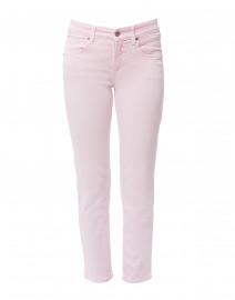 Pina Pale Pink High Recovery Stretch Cropped Jean