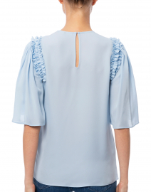 Kobi Halperin - Coleen Pale Blue Silk Blouse