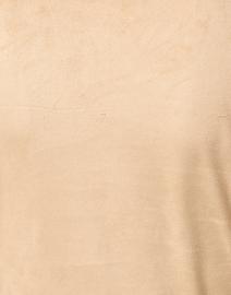 Gretchen Scott - Teardrop Beige Faux Suede Dress