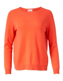 Allude - Coral Wool and Cashmere Sweater