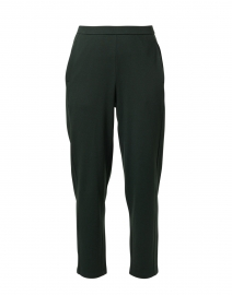 Ivy Green Cotton Fleece Pull-On Pant