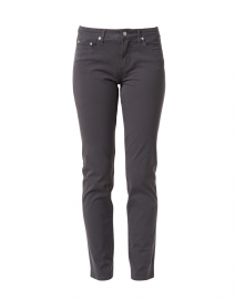 Dark Grey Tapered Straight Leg Stretch Cotton Jean