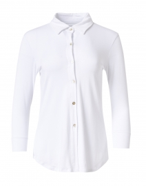 Eastdale White Bamboo Cotton Top
