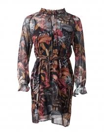 Velma Leaf Print Dress