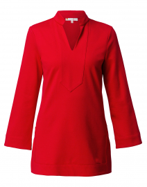Chris Red Ponte Tunic