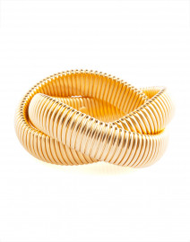 Gold Twist Cobra Bracelet