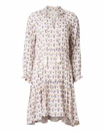 Janni White Madigan Floral Print Dress