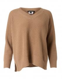 Fachiro Camel Virgin Wool Sweater