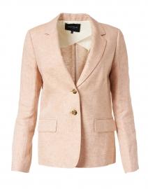 Thatcher Clay Linen Blazer