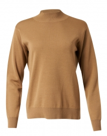 Camel Wool Blend Sweater
