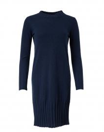 Navy Cashmere Dress