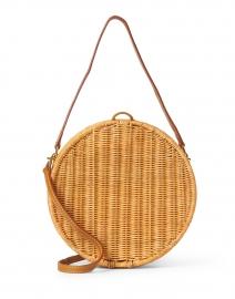 Destiny Natural Wicker Circle Bag