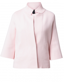 Pale Pink Viscose Swing  Jacket