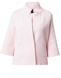 Pale Pink Viscose Swing  Jacket