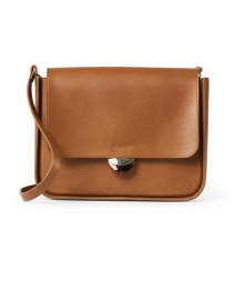 Lourdes Cognac Leather Crossbody Bag