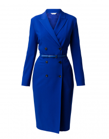 Dionea Sapphire Crepe Blazer Dress