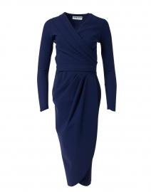 Jodene Navy Stretch Jersey Dress