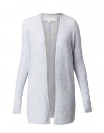 Nima Heathered Pale Blue Cashmere Cardigan