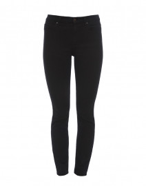 Riche Touch Black Noir Skinny Ankle Denim Jean