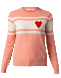 Pink Heart Cashmere Sweater