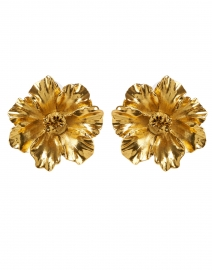 Tamara Gold Flower Stud Earring