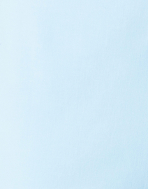 Leggiadro - Sky Blue Stretch Cotton Slim Fit Capri Pant