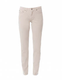 Silver Tapered Straight Leg Stretch Cotton Jean