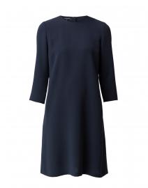 Quintana Navy Finesse Crepe Dress