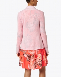 White + Warren - Confection Pink Essential Cashmere Cardigan