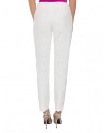 Escada - Tuska Off-White Stretch Slim Pant