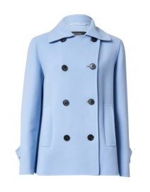 Agnese Blue Wool Jacket