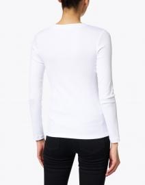 Peserico - White Stretch Cotton Top