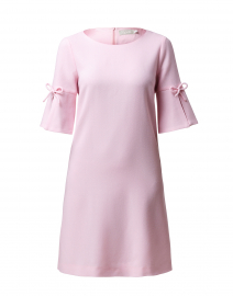 Irinna Pink Wool Crepe Tunic Dress