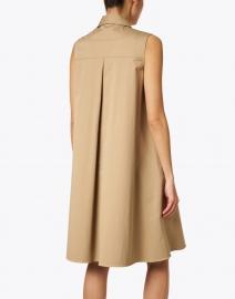 BOSS Hugo Boss - Dawiri Beige Stretch Cotton Shirt Dress