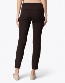 Cambio - Ros Chocolate Brown Techno Stretch Pant