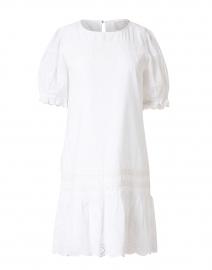 White Cotton Eyelet Dress