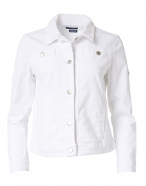 Tania White Denim Jacket
