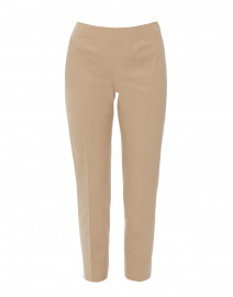 Monia Tan Stretch Cotton Pant